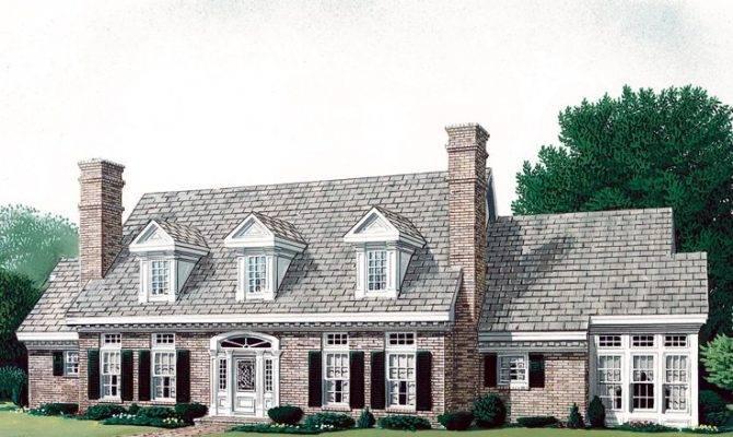 Dormer Cape Cod House Plans Home Design Style