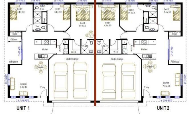 Double Bedroom Duplex House Plans Home Deco