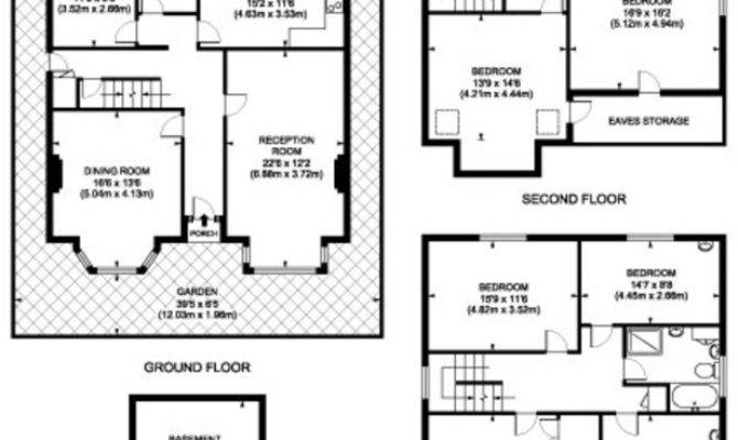 Double Fronted House Floor Plan Home Design Style