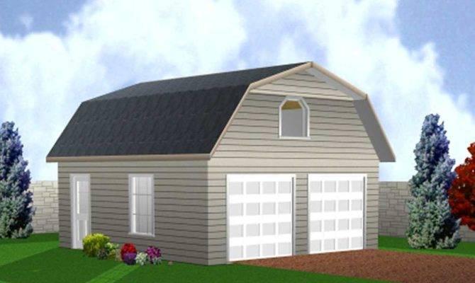 Double Garage Designs Barn Style Loft