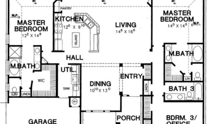 20 2 Master Suite House Plans Is Mix Of Brilliant Creativity House Plans