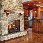 Double Sided Fireplace House Ideas Pinterest