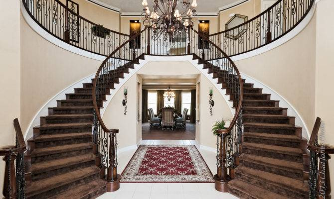 Double Staircase Moorpark Country Club Estates Home