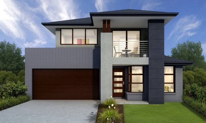 Double Storey Home Designs House Tenille