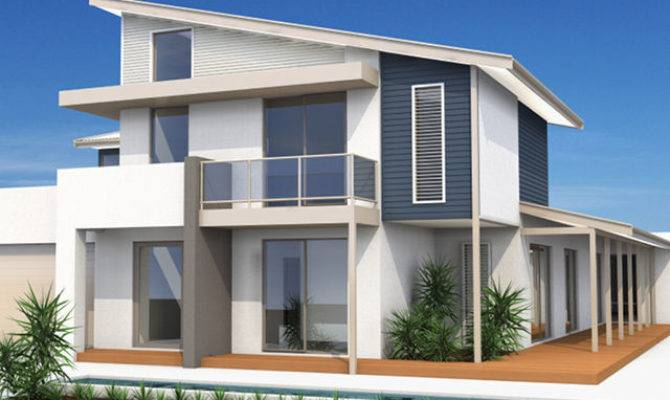 Double Storey House Plans Withal