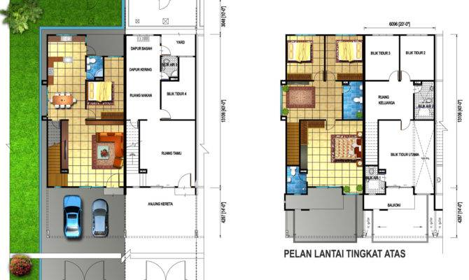 Double Story House Plans Home Deco