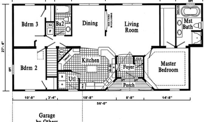 Dover Ranch Style Modular Home Pennwest Homes Model