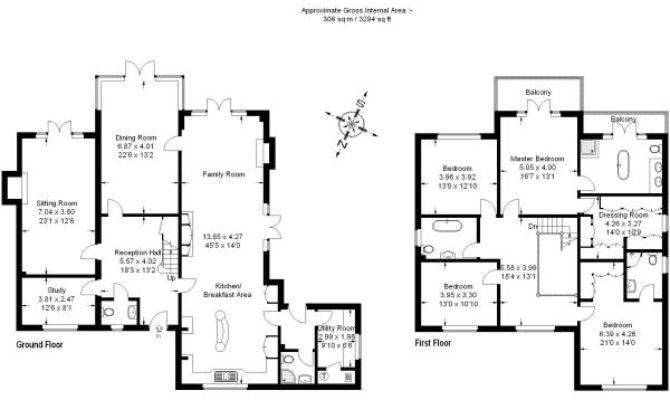 Down House Floor Plan Design Plans