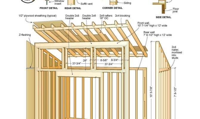 Downloadable Shed Plans Wooden Garden