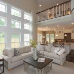 Dramatic Two Story Room Wall Glass Bedroom
