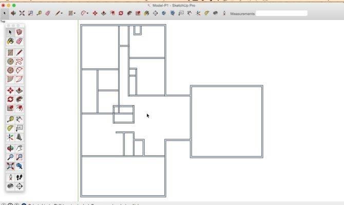 Draw Floor Plan Sketchup Field Measurements