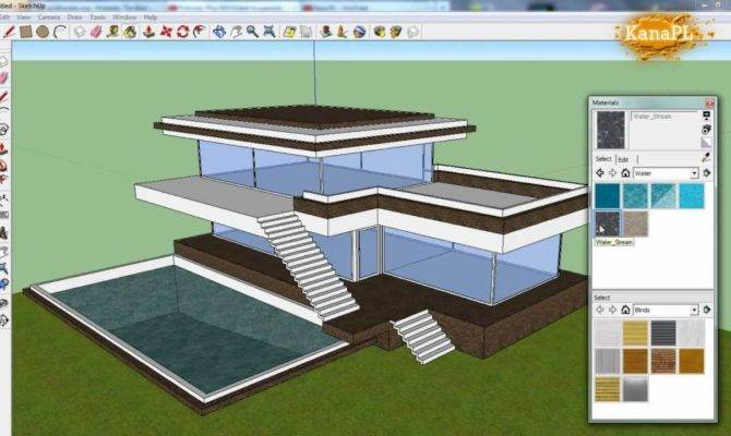 Drawing House Plans Sketchup Home Deco