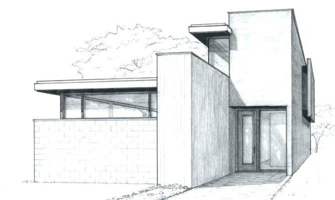 Drawings House Drawing Drawn Building