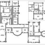 Drawn Castle Floor Plan Pencil Color