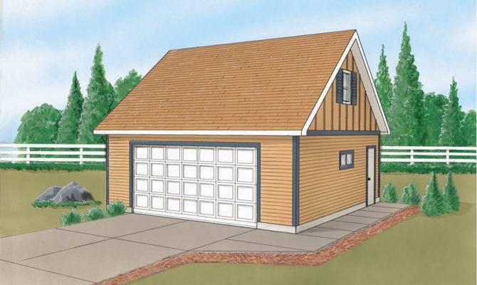 Dream Garage Loft Plans House
