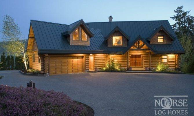 Dream Home Custom Log Homes Builders Designs