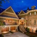 Dream Home Designs Eclectic Brick Wall Exterior Custom Homes