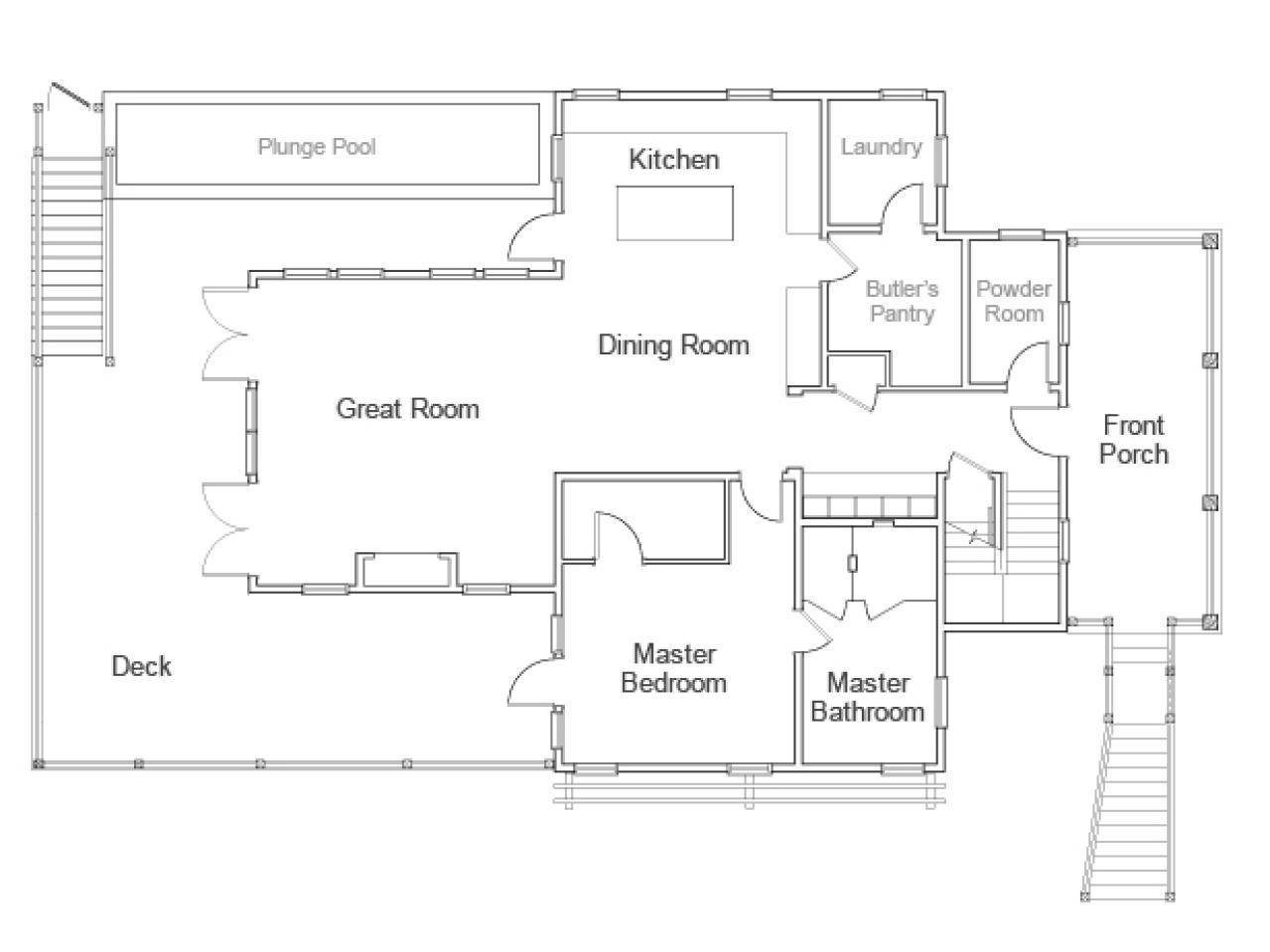 Dream Home Floor Plan Video Hgtv
