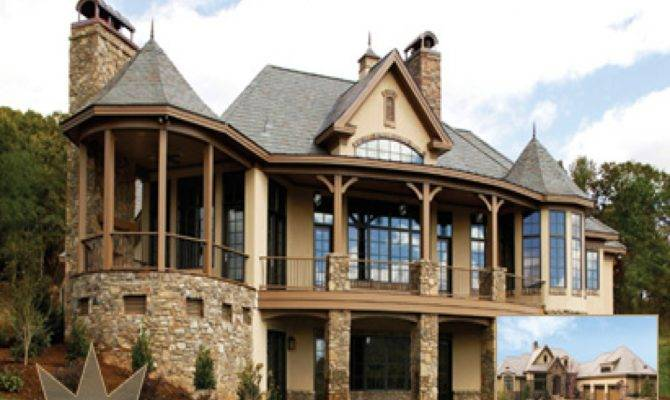Dream Home House Plans Walkout Basement French Country