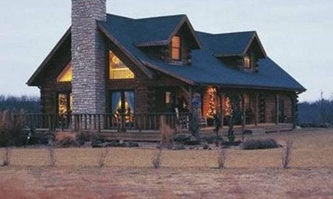 rustic luxury log cabin homes