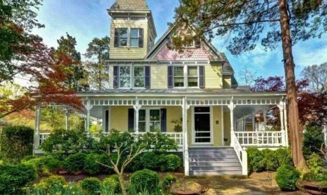 Dream Home Victorian Homes Porches Pinterest