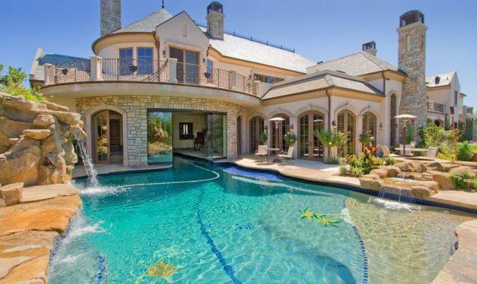 Dream Houses Pool Would Definitely Live Fashion