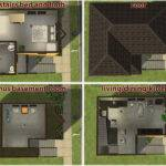 Dream Sims House Layouts Architecture Plans