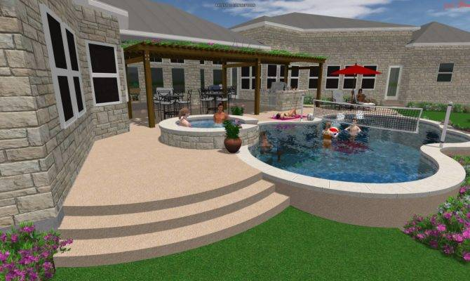 Dream Sims Pool Designs Architecture Plans