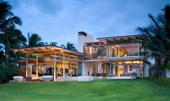 Dream Tropical House Design Maui Bookmark