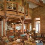 Dreamy Log Cabins Custom Home Idaho