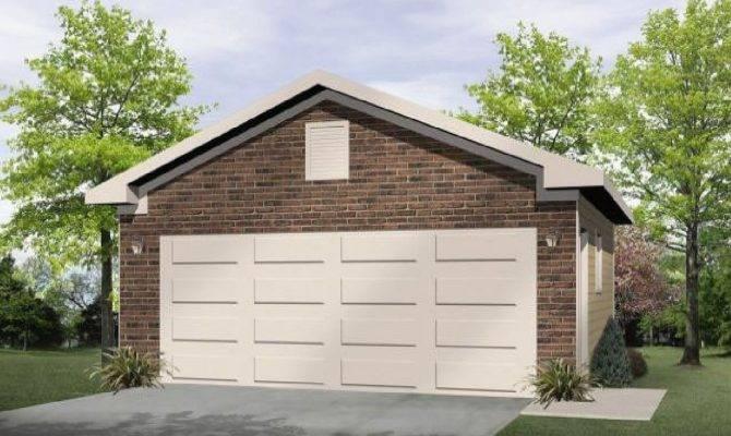 Drive Through Garage Architectural Designs