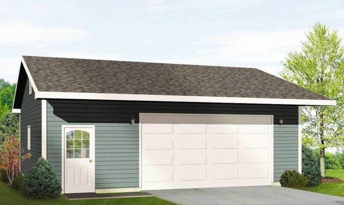 Drive Thru Garage Wide Door