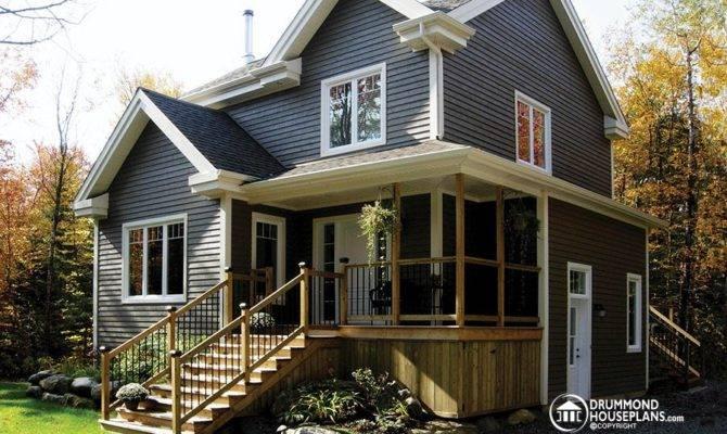 Drummond House Plans Basement Apartment Homes