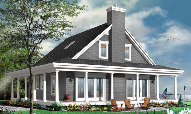 Drummond House Plans Country Cottage Plan
