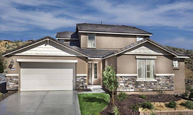 Dry Creek Damonte Ranch New Home Community Reno