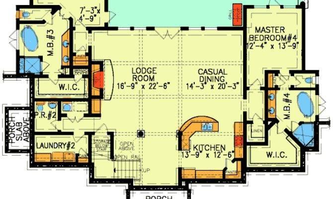 Dual Master Suites Plus Loft Architectural