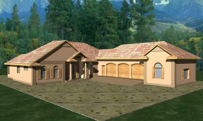 Duarte Luxury Ranch Home Plan House Plans More