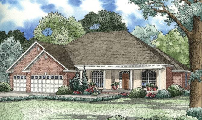 Dunaway Traditional Ranch Home Plan House Plans More