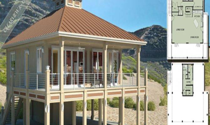 Duplex Beach House Plans
