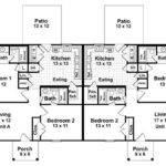 Duplex Bedrooms Baths House