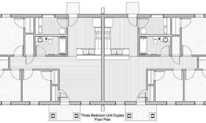 Duplex Floor Plans Bedrooms
