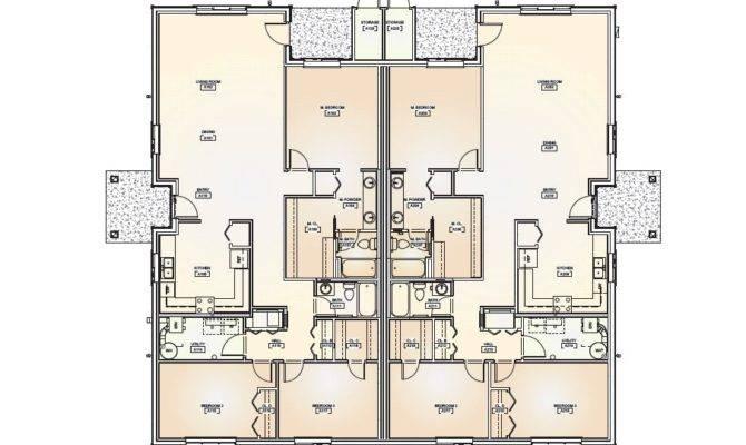 Duplex Floor Plans House Plan Shop House Plans 81874