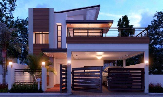 Duplex House Design Concept Home