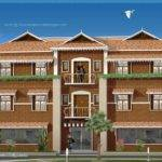 Duplex House Elevation Design Kerala Home Plans