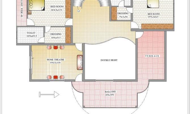 Duplex House First Floor Plan February House Plans 34692