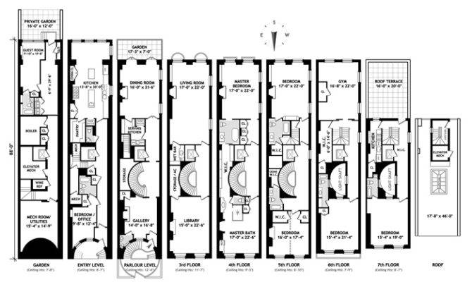 Duplex House Plan Multi Plans