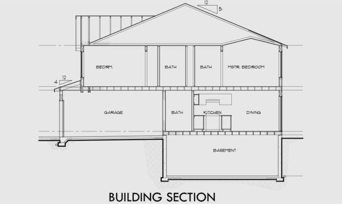 Duplex House Plan Plans Basement Affordable