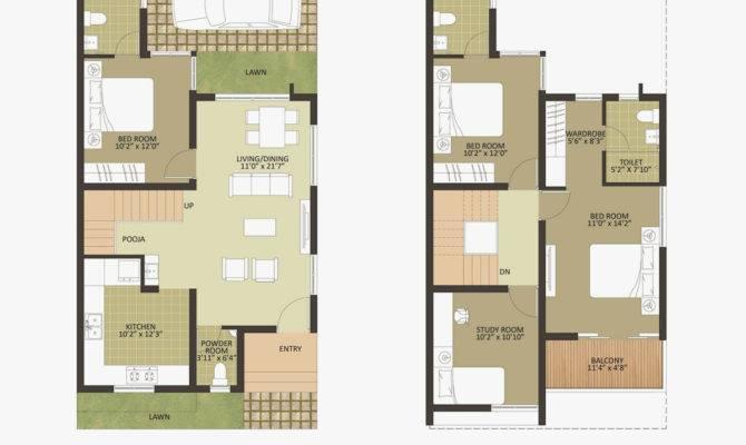 Duplex House Plans Bangalore Plan