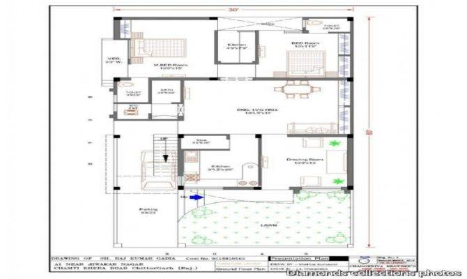 Duplex House Plans Garage Architecture Design