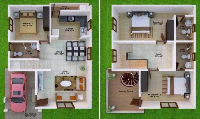 Duplex House Plans India Youtube